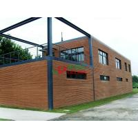 China High Density WPC Exterior Wall Cladding Longlifespan Environmental Friendly wholesale