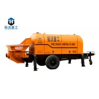 Buy cheap Optimized Hopper Diesel Concrete Pump Trailer With ISO Certification from wholesalers