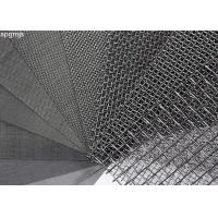 China 304L Stainless Steel Wire Mesh Panels With Plain Weave Type Heat Resistance wholesale
