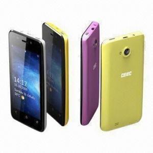 China Dual-SIM 3G Mobile Phones, 3.97-inch Screen, 5MP Camera, MTK6575M wholesale