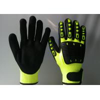 China TPR Back Sewing Mechanic Work Gloves Eco Friendly Reducing Hand Fatigue wholesale