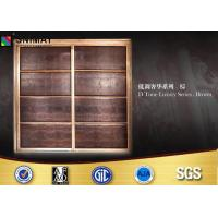 China Customized Bedroom PVC Wardrobe Sliding Door Design Eco Friendly wholesale