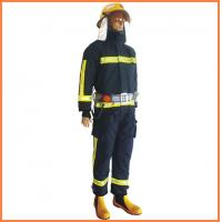 China Nomex EN 469 fire suit gloves and fire-fighting rubber boots wholesale