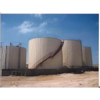 China Big Volume Bitumen Storage Tank With Hot Oil Coils And Nature Gas Drive Boiler on sale