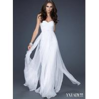 Buy cheap Silk pure white cocktail dress from wholesalers