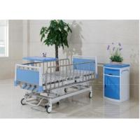 China Multi Function Manual Hospital Pediatric Hospital Beds With Four Cranks wholesale