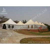 Buy cheap 10 x 10 German Style High Peak Tents , wedding decoration tent Aluminum Alloy Profile from wholesalers