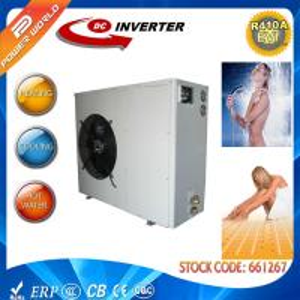 China Dual Rotary 220v 50hz Air Source High Cop Heat Pump Monobloc Heat Pump wholesale
