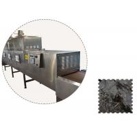 China Agricultural Microwave Tea Dryer Machine With 0.5-10 M/Min Conveyor Speed wholesale