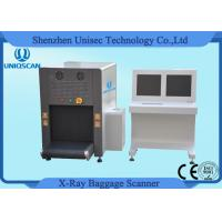 China ISO1600 Film Duel View SF6550D Baggage Scanner 38AWG , 40mm Steel Penetration wholesale