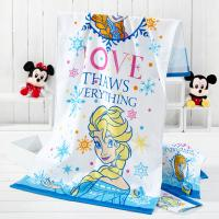 China Disney Princess Cotton Printed Beach Towels Reactive Dyes Bright Easily Absorbed wholesale