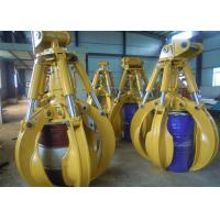 China Special Joint Hydraulic Orange Peel Grabs for Hyundai R220 Excavator wholesale