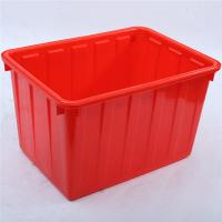 China W 90L  OEM Cheaper price HDPE new material plastic Storage water crate for fish wholesale