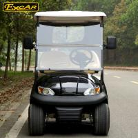 China Most Popular 2 Seats Electric Golf Carts With Cloak , 100 Waterproof Accelerator on sale