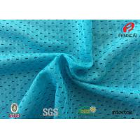 China Plain Deyed Sports Mesh Fabric Athletic Clothing Material Knitting Technics on sale