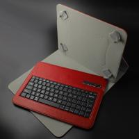 China Colorful Leather 9 Inch Bluetooth Keyboard 160mAh With ABS keys on sale