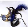 """China Masque en plastique de Colombina avec la plume 13"""" d'autruche OR de PF0803R wholesale"""