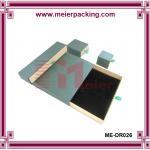 Elegant Beautiful Cosmetic Packaging Paper drawer cardboard box ME-DR026
