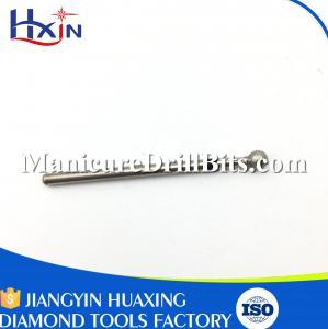 China Silver Diamond Nail Drill Bits Large Ball Type Grinding Tool Bits Head Diameter 4mm wholesale