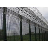 China High Security Prison Mesh Fence Panels / 358 Anti Climb Fence wholesale