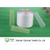 China Nouez non le fil blanc cru de polyester pour le bagage/tente/sac tissé/la couture wholesale