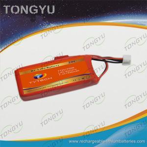 China Orange Helis RC 20C Lithium Polymer LiPo Battery Packs 7.4V 1550mAh on sale