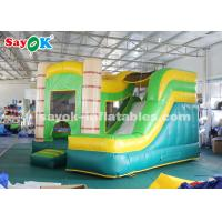 China 4*3.5*3.5m PVC tarpauline Inflatable Bouncer Slide with Blower wholesale