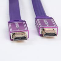 China Professional manufacturer HDMI cable nylon braid flat HDMI cable wholesale