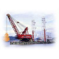 China Clamshell Grab Dredger Offshore Marine Cranes Ocean River Construction Floating Crane wholesale
