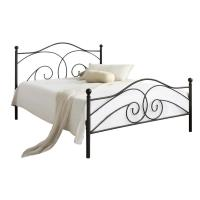 China Optional Colour Sturdy Slat Metal Bed Frame , Queen Size Slatted Bed on sale