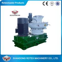 China Automatic Lubrication Biomass Wood Pellet Machine , Wood Pellet Maker wholesale