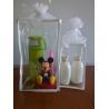 Buy cheap Personalised PVC Vinyl Drawstring Bag White Organza Gift Bag Screen Printing from wholesalers