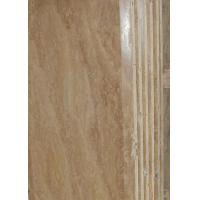 China Countertop Vanity Marble Stone Slab Decorative Plate Polish / Honed CE Certification wholesale
