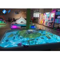 China Sandbox Interactive Projector Games Sand Table For Children Simulation Scene Model on sale