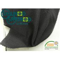 China Black Plain Weave fusable Interfacing , Fabric 50gsm woven fusing on sale