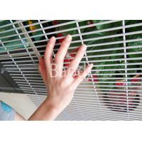 China Security 358 Anti Climb Mesh Fence Welded Panel PVC Coated After Galvanized wholesale