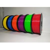 China 1.75mm 1KG ABS 3D Printer Filament Spool Master Filament With Good Elasticity wholesale
