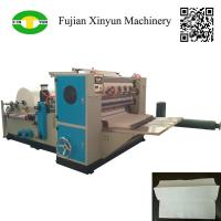 China High speed automatic three fold hand towel paper making machine wholesale