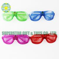 China LED flashing glasses in window design SPX1-08 party glasses on sale