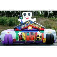 China Digital Printing Inflatable Sport Games Haunted House Maze Tunnel wholesale