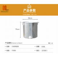 China high quality stainless steel 201 honey tank with cover and valve 25kg wholesale