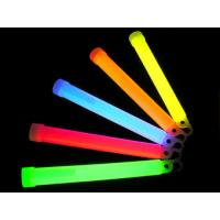 China Colorful 6 Inch 15 * 150mm Pink, Red, Orange Glow Sticks For Celebration, Outing Fields wholesale