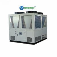 China Air Cooled Water Chiller Unit 150kw Cooling Screw Chiller For PET PVC Line Extruder Machine on sale