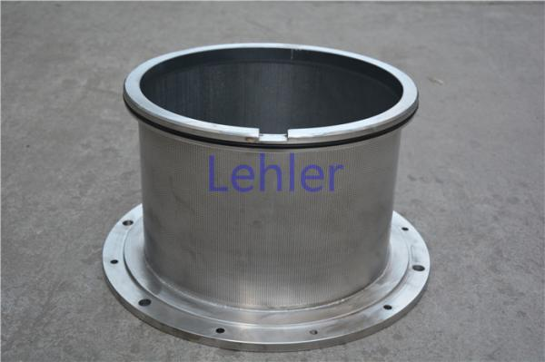 Quality 0.03mm Hole Size Pressure Screen Basket Flow Outside To Inside Type Long Lifespan for sale