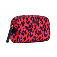 China Digital Printing Lady Portable Polyester Cosmetic Bag For Travel wholesale