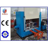 China Close Type Rubber Sheet Processing Machine Electric / Steam Heating 1000x600 Hot Plate Size wholesale