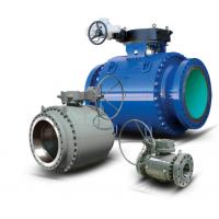 China 3 Piece Trunnion Mounted Ball Valve API 6D Full & Reduced Port Bolted Body Construction wholesale