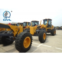 China CIVL GR215 Motor Graders in Yellow White , 7000kg Operating Weight wholesale