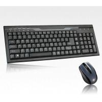 China Ergonomic 2.4G Wireless Keyboard and Mouse Combo For Desktop Computer Spare / Parts wholesale