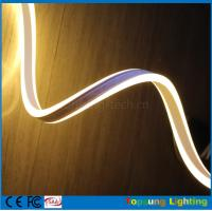 China shenzhen led double-sided neon light 8.5*18mm 240v flexi neon warm white wholesale